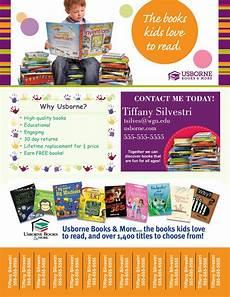 Flyers Book Digital Usborne Books Tear Off Printable Flyer By