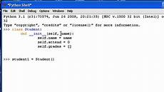 Python Programming Examples Python 3 Tutorial 19 Classes Youtube