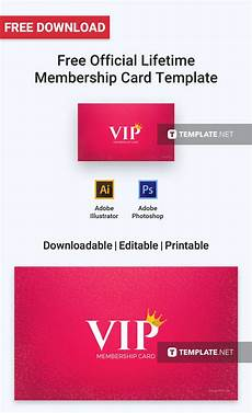 Membership Card Template Publisher Free Official Lifetime Membership Card Membership Card