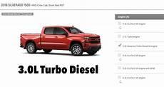 2019 Chevrolet 3 0 Diesel by Gm Canada Lets You Configure A 2019 Chevy Silverado 1500 3