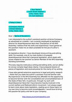 Example Letter Cover Letter Examples Amp Cover Letter Templates