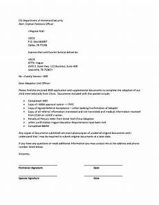 Cover Letter For Green Card Application Uscis Cover Letter For I800 A Form Fill Out And Sign
