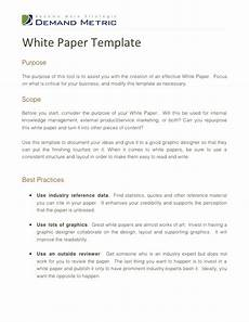 Product White Paper Template White Paper Template