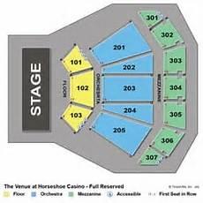 Horseshoe Casino Seating Chart The Venue At Horseshoe Casino Music Venues Hammond In