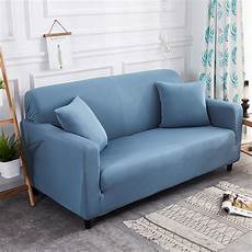 Throw Slipcover Sofa 3d Image by Modern Solid Color Stretch Slipcover Throw Elastic Sofa