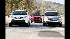 Rav4 Comparison Chart Toyota Rav4 Vs Honda Cr V Vs Mazda Cx 5 Compact