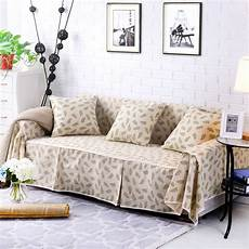 sofa cover slipcover cotton blend 1 4 seater pet