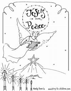 bethlehem coloring page for