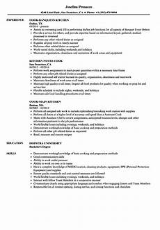 Cook Resume Resume Examples For Cooks Best Resume Examples