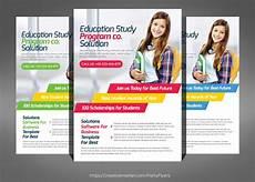Education Leaflet Design Kids School Flyer Psd
