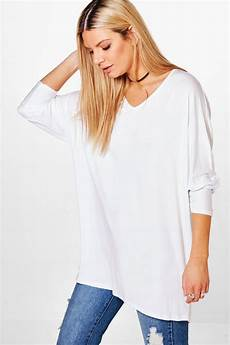 oversized sleeve tshirt boohoo womens sleeve oversized t shirt ebay