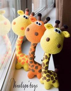 crochet giraffe the cutest ideas the whoot