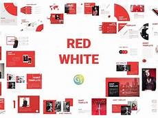 Red Powerpoint Red White Free Powerpoint Template By Giant Template On
