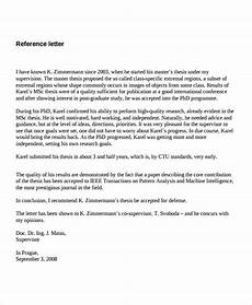 Reference Letter Sample For Job 7 Job Reference Letter Templates Free Sample Example