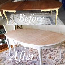 provincial dining table makeover before and after