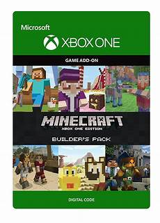 minecraft xbox one edition builder s pack cd key for