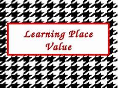 Powerpoint On Place Value Learning Place Value Powerpoint Presentation By Tricks Of