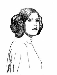 princess leia coloring pages 1 wars drawings