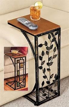 sofa side table geometric or drop leaf side easy storage