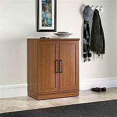 sauder home plus oak storage cabinet 411967 the