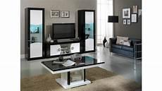 meuble tv et rangement pour meuble tv moderne 2 portes noir et blanc nevis gdegdesign