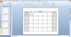 Calendar Template Powerpoint Make Your Free Calendar 2013 Template In Powerpoint