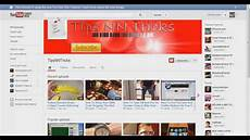 You Tube Web Page How To Create Youtube Channel Art For Your Youtube One