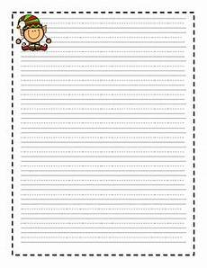 Christmas Themed Writing Paper Christmas Themed Writing Paper Freebie By