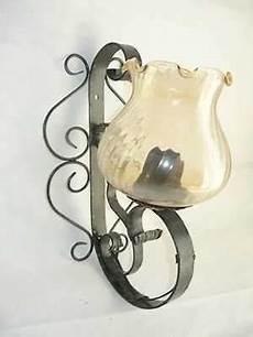 applique da parete in ferro battuto applique da parete lada in ferro battuto forgiato ebay