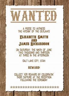 Western Wedding Invitations Templates Free Western Wedding Invitation Wedding Invitation Templates