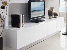 2 4m majeston white floating tv cabinet