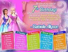 Sample 7th Birthday Invitation Sample 7th Birthday Invitation Card