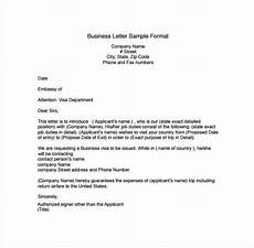 Template For Business Letter Professional Letter Template 5 Business Letter Sample