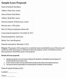 Business Lease Proposal Template 15 Lease Proposal Examples Pdf Doc Apple Pages Examples