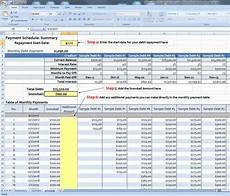 Snowball Debt Spreadsheet Debt Snowball Spreadsheet Moneysmartguides Com