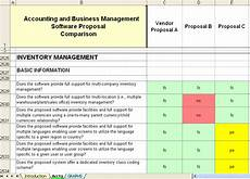 Proposal Comparison Spreadsheet Template Printable Quotation Template In Excel And Doc