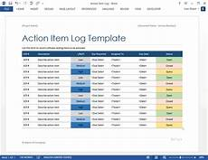 Action Item Template Word New Software Testing Templates 50 Ms Word 40 Excel