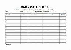 Call Sheet Template Excel Call Sheet Template 25 Free Word Pdf Documents