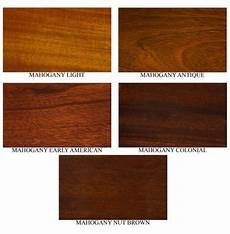 Mahogany Wood Stain Color Chart Different Mahogany Colors Mahogany Stain Colors Fs347a