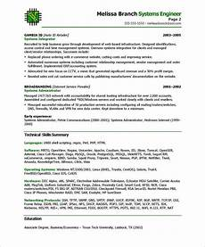 Systems Engineer Resume Systems Engineer Page2 It Resume Samples Free Resume