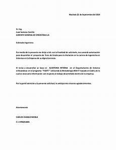 Ejemplos De Cartas De Peticion Peticion Carta Oroestiba