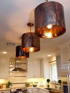 Copper Pendant Light Kitchen White Kitchen With Copper Light Fixtures Hgtv