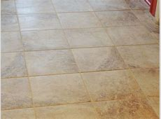 """Ceramic Tile   Mesa Beige from Lowes 12"""" with mocha grout   Kitchen flooring, Flooring, Kitchen"""