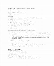 Resume Format For Teenagers 15 Teenage Resume Templates Pdf Doc Free Amp Premium