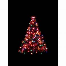 Battery Outside Christmas Tree Lights Ge 7 Ft White Winterberry Branch Tree With Led Lights