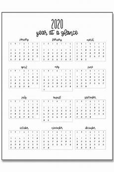 at a glance calendar 2020 2020 calendar at a glance and 2020 mini calendar stickers