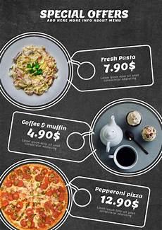 Menus Designs For Restaurants Copy Of Restaurant Menu Or Special Offers Template
