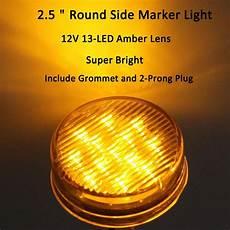 4 Inch Round Led Lights Hole Size Shop For Trailer Led Side Clearance Lights 5pack 2 5