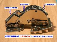 rv dgn cabinet door hinge 2952 3m with 3 springs soft