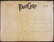 Old Postcard Template Vintage Postcard Templates